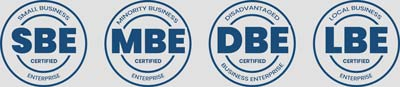 Certification for SBE DBE LBE and MBE
